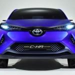 トヨタ「C-HRコンセプト2015」デザイン画像集