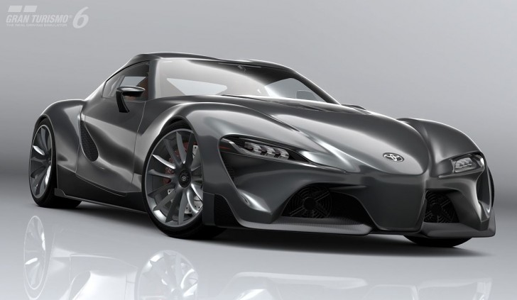 Toyota FT-1 Graphite Concept 2014 00