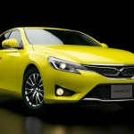 TOYOTA Yellow MARK-X 2014