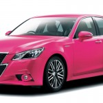 TOYOTA PINK CROWN 2013