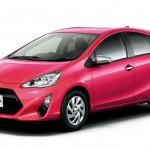 トヨタ「新型アクア2014」デザイン画像集