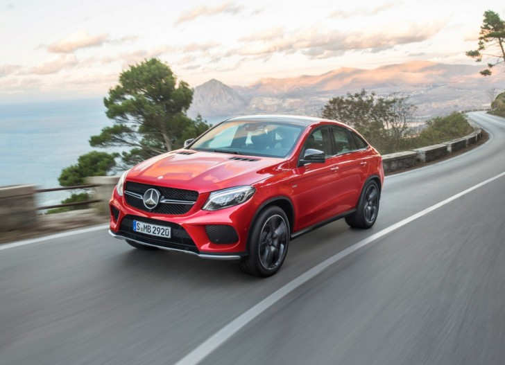 2016 Mercedes Benz GLE Coupe 01