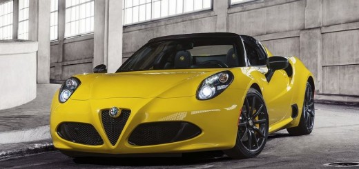 Alfa Romeo 4C Spider 2015 01