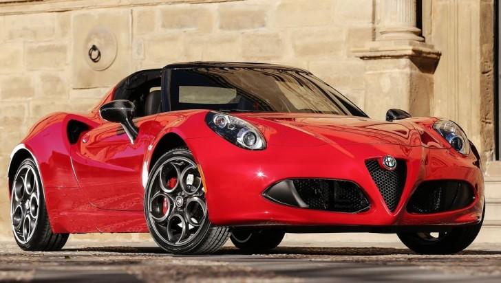 Alfa Romeo 4C Spider 2015 07