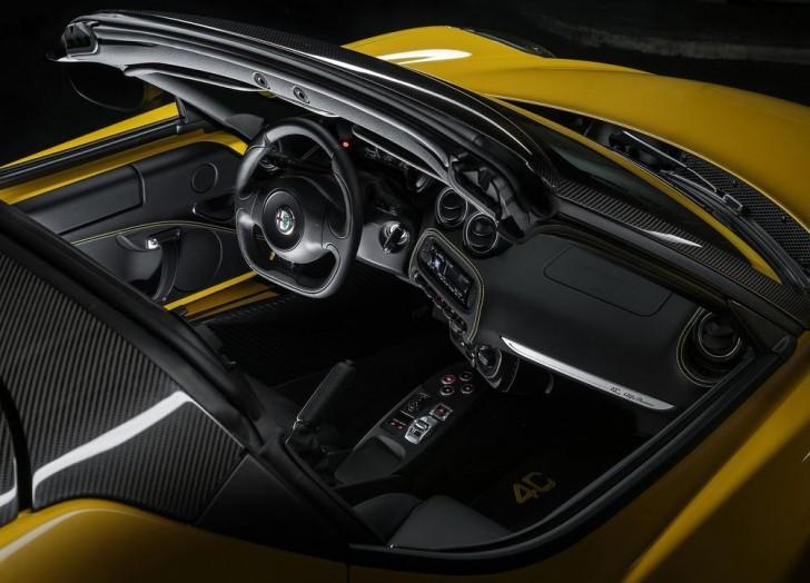 Alfa Romeo 4C Spider 2015 11