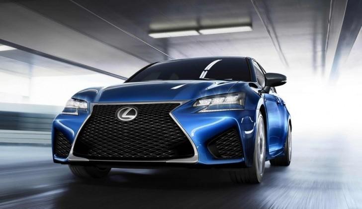 Lexus GS F 2016 01