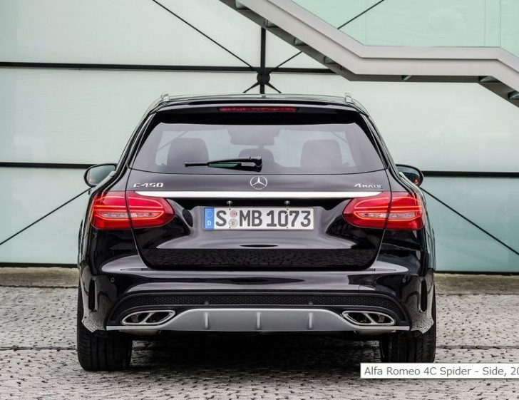 Mercedes-Benz C450 AMG 4Matic Estate 2016 05