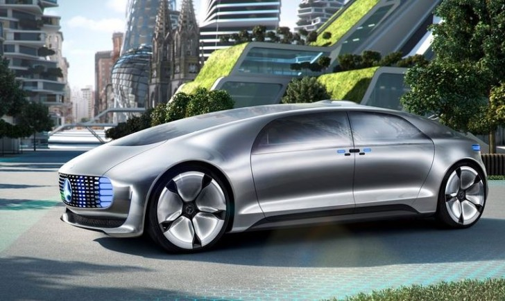 Mercedes-Benz F015 Luxury in Motion Concept 2015 01