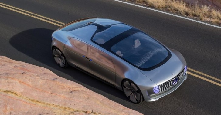 Mercedes-Benz F015 Luxury in Motion Concept 2015 05