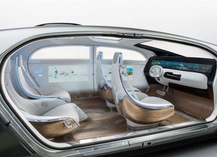 Mercedes-Benz F015 Luxury in Motion Concept 2015 10