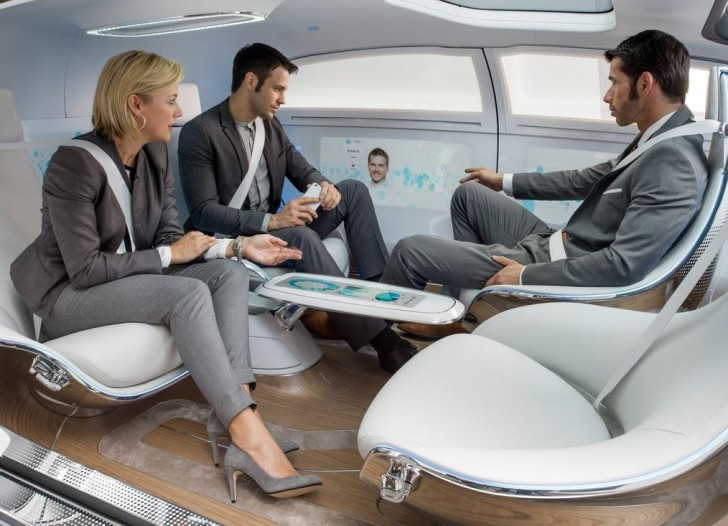 Mercedes-Benz F015 Luxury in Motion Concept 2015 12