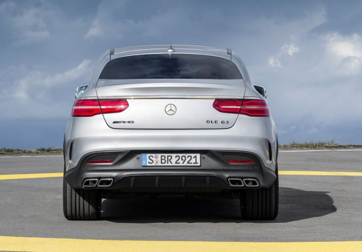Mercedes-Benz GLE63 AMG Coupe 2016 08
