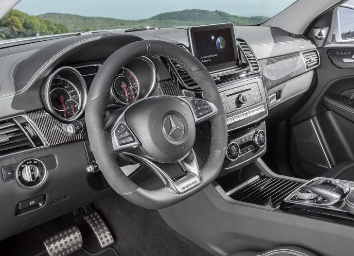 Mercedes-Benz GLE63 AMG Coupe 2016 09