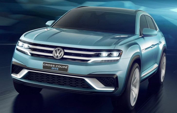 Volkswagen Cross Coupe GTE Concept 2015 01