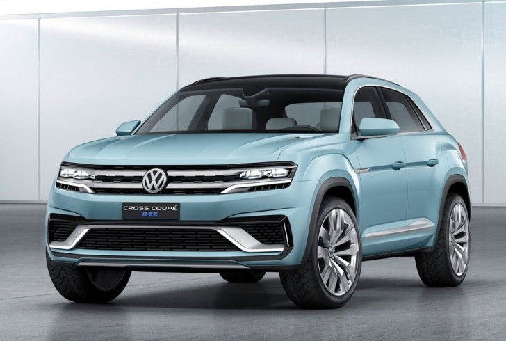 Volkswagen Cross Coupe GTE Concept 2015 02