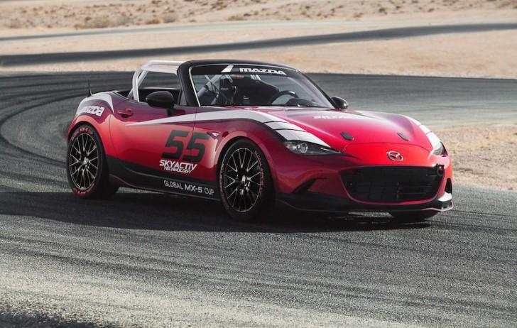 「グローバルMX-5カップ」レース車両