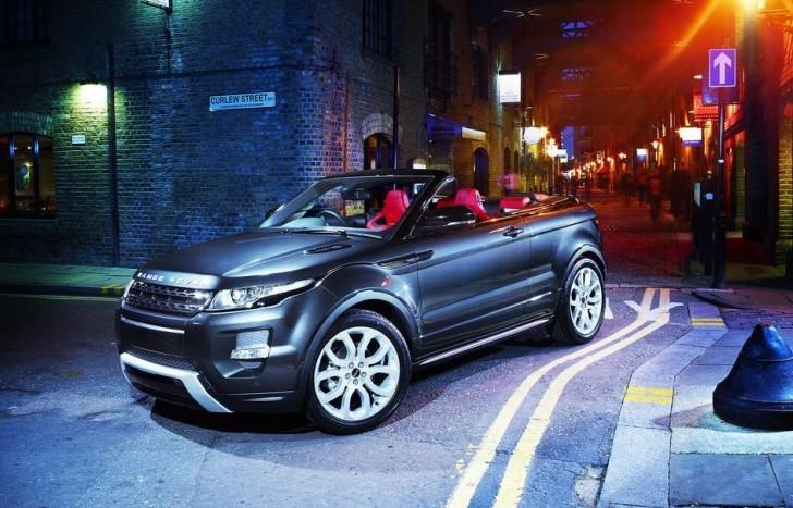 2015 Land Rover Range Rover Evoque Convertible 0