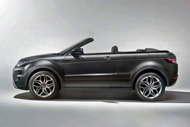 2015 Land Rover Range Rover Evoque Convertible 4