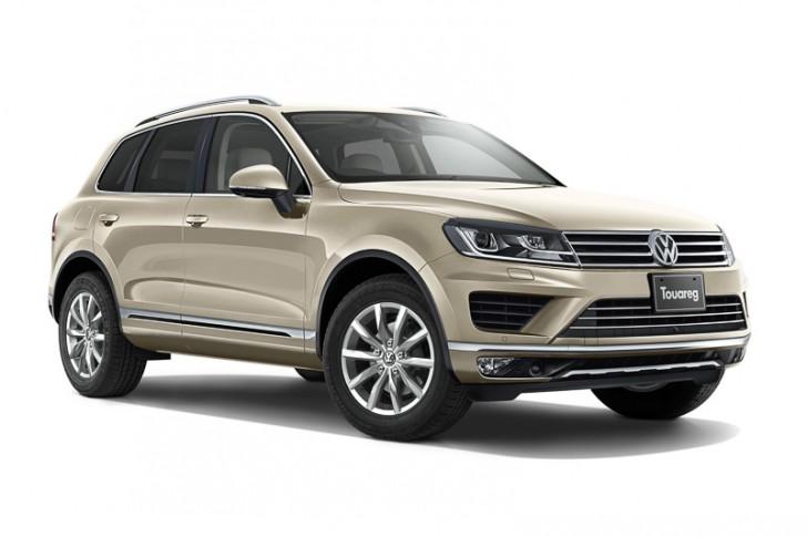 VW トゥアレグ2015 サンドゴールドメタリック