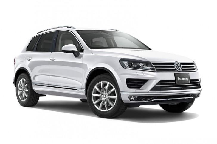 VW トゥアレグ2015 ピュアホワイト