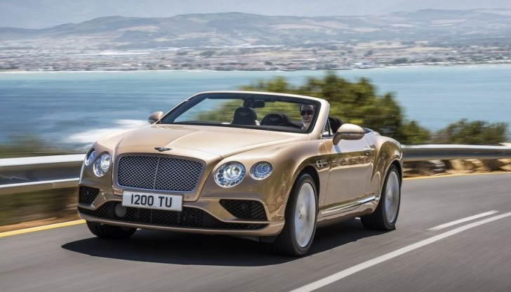 Bentley Continental GT Convertible 2016 02