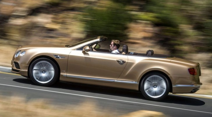Bentley Continental GT Convertible 2016 03