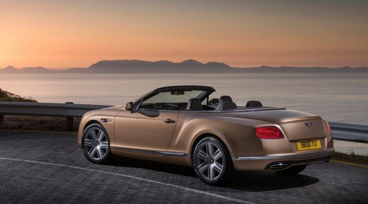 Bentley Continental GT Convertible 2016 04