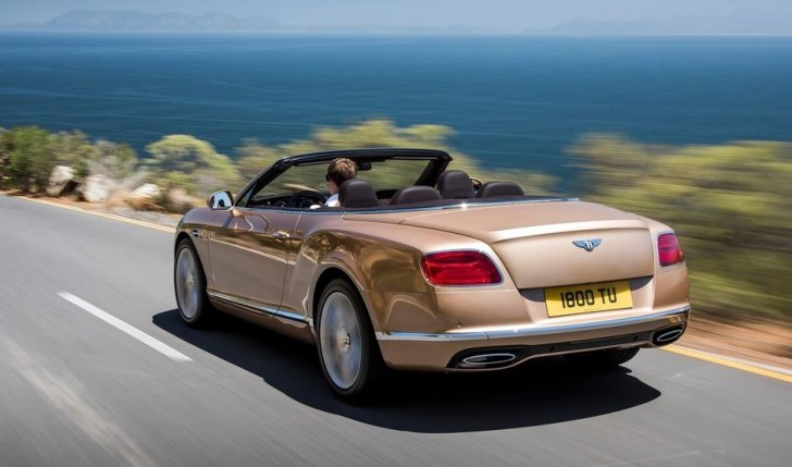 Bentley Continental GT Convertible 2016 05