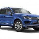 VW「新型トゥアレグ2015」デザイン画像集