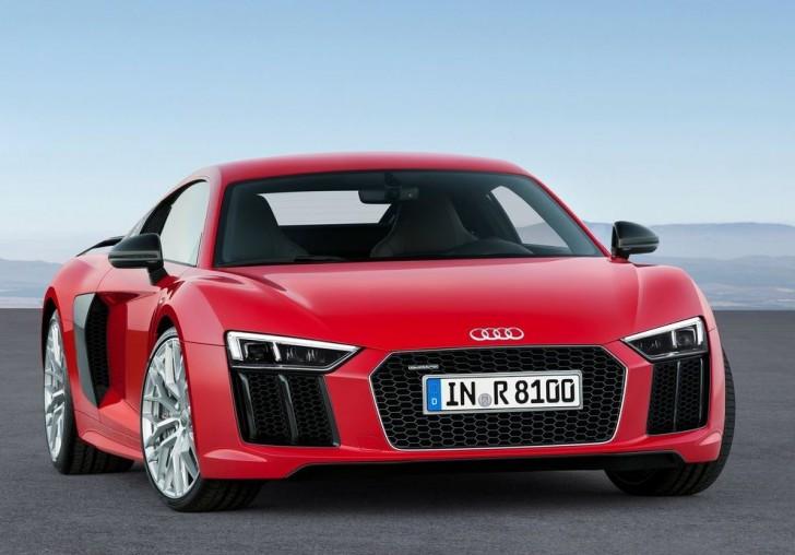Audi R8 V10 plus 2016 02