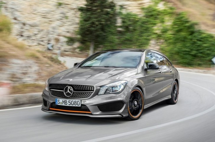 Mercedes-Benz CLA Shooting Brake 2016 01