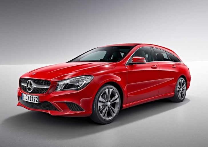 Mercedes-Benz CLA Shooting Brake 2016 06