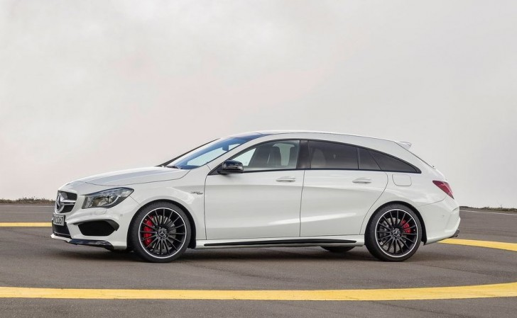 Mercedes-Benz CLA45 AMG Shooting Brake 2016 04