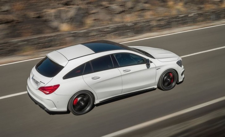 Mercedes-Benz CLA45 AMG Shooting Brake 2016 05