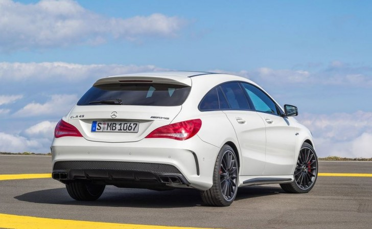 Mercedes-Benz CLA45 AMG Shooting Brake 2016 06