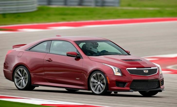 Cadillac ATS-V Coupe 2016 02