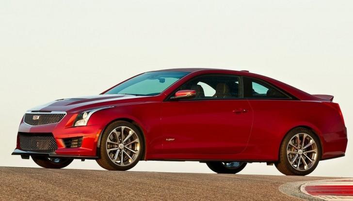 Cadillac ATS-V Coupe 2016 03