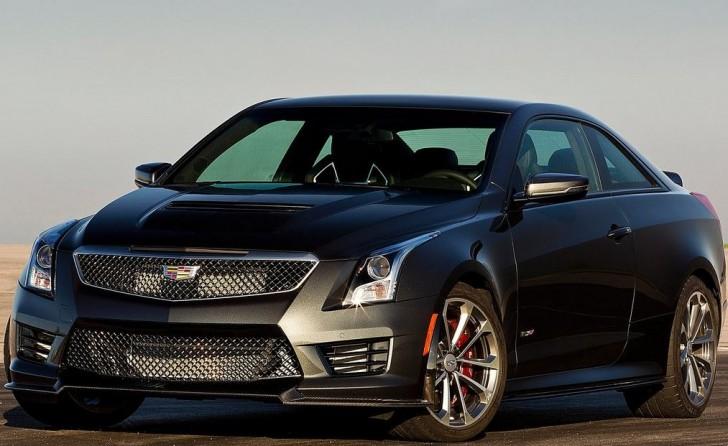Cadillac ATS-V Coupe 2016 05
