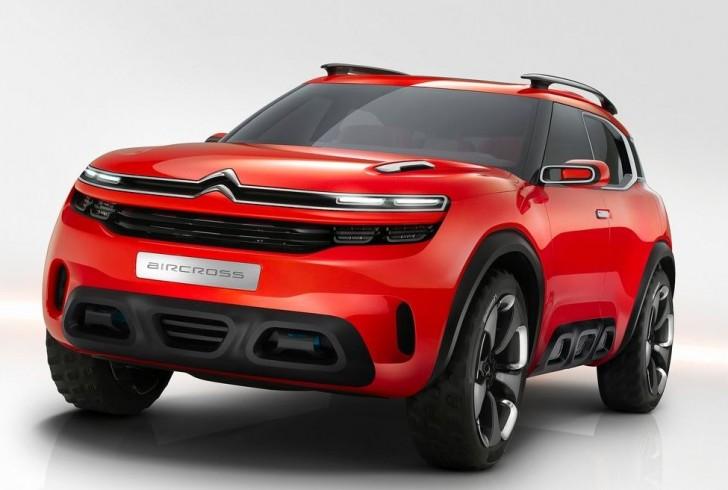 Citroen Aircross Concept 2015 01