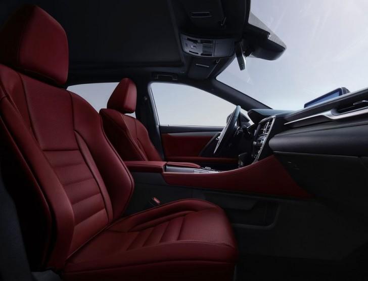 Lexus RX 350 F Sport 2016 06