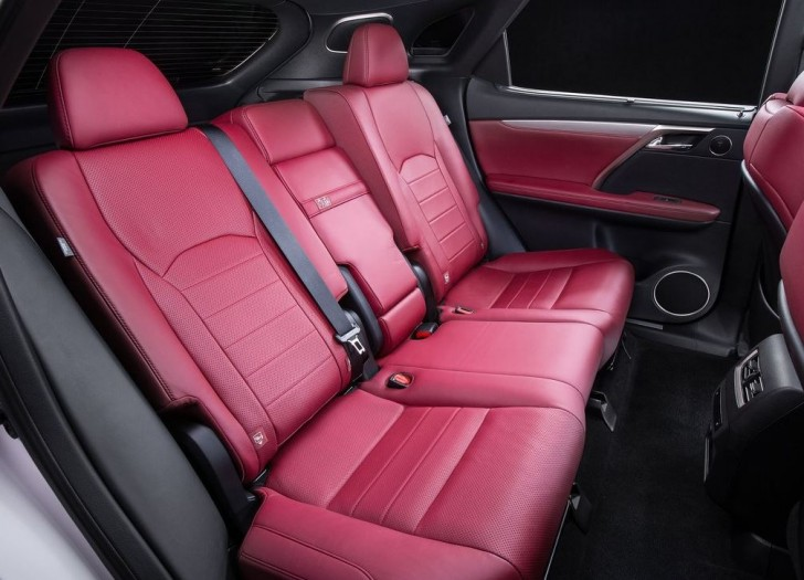 Lexus RX 350 F Sport 2016 07