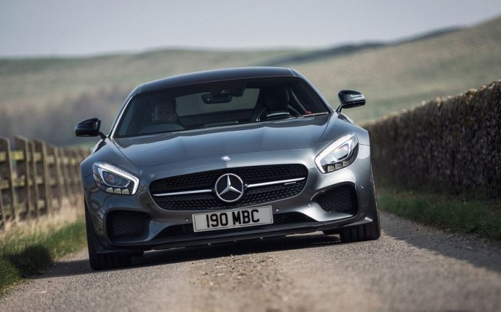 Mercedes-Benz AMG GT S UK-Version 2016 02