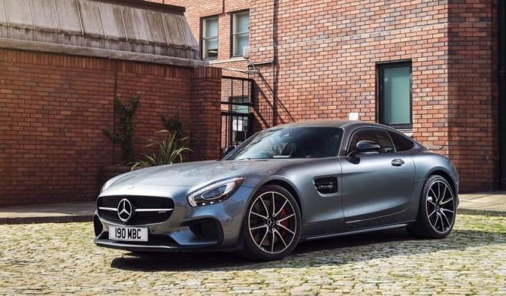 Mercedes-Benz AMG GT S UK-Version 2016 03