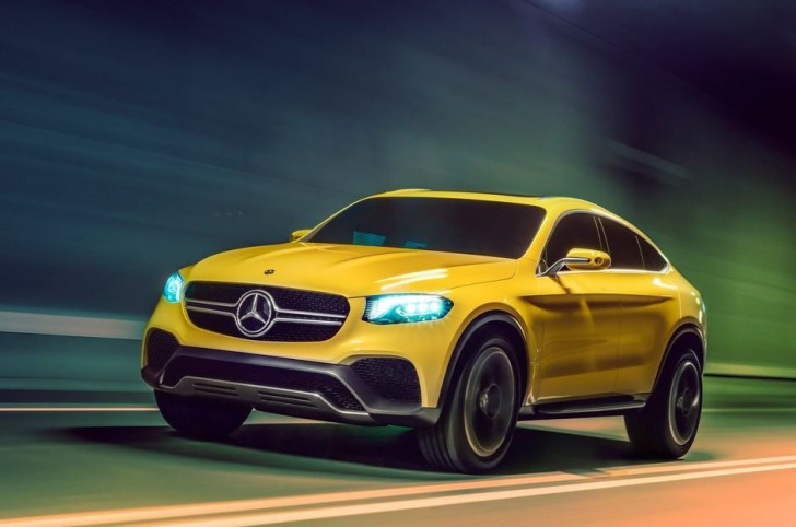Mercedes-Benz GLC Coupe Concept 2015 01