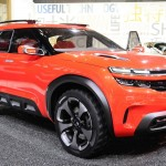 シトロエン「新型エアクロス・コンセプト」実車デザイン画像集@上海オートショー