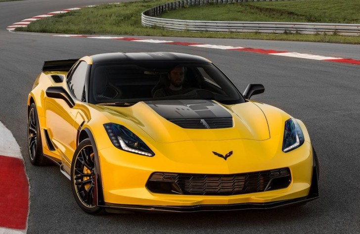 Chevrolet Corvette Z06 C7.R Edition 2016 01