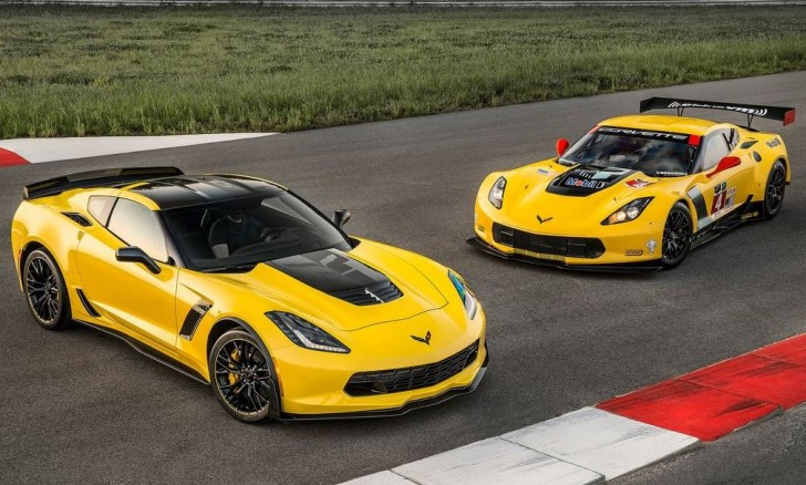 Chevrolet Corvette Z06 C7.R Edition 2016 02