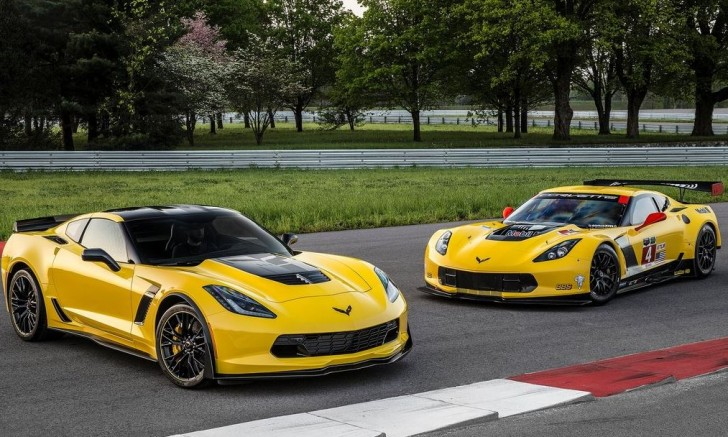 Chevrolet Corvette Z06 C7.R Edition 2016 03