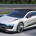 フォルクスワーゲン「新型Golf GTE Sport コンセプト 2015」デザイン画像集