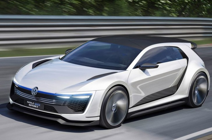Volkswagen Golf GTE Sport Concept 2015 01